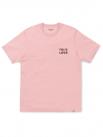 Carhartt True Love T-Shirt (soft rose/black)