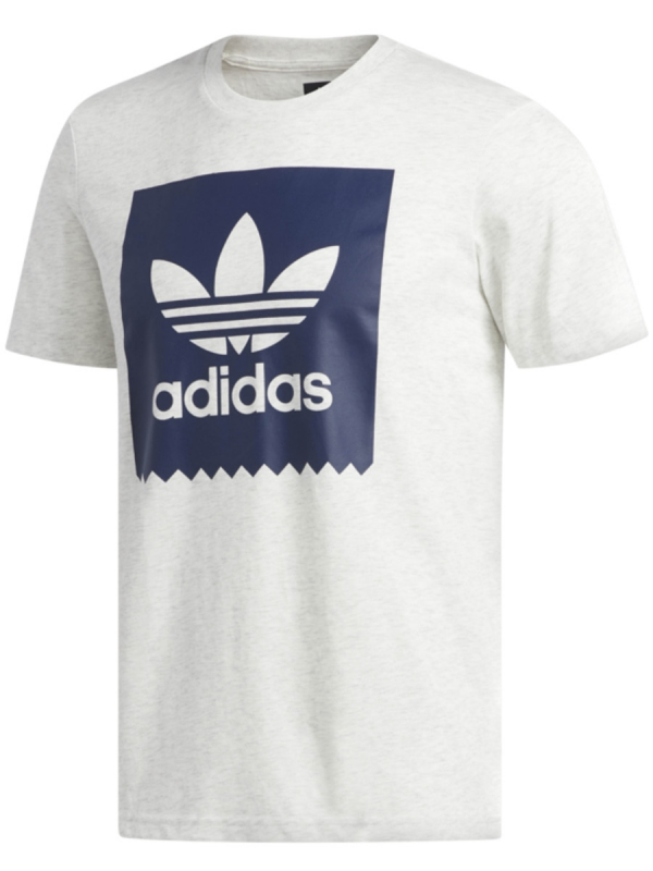 Adidas Solid Blackbird T-Shirt (pale melange/night indigo)