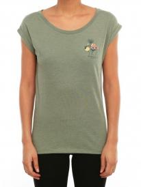 Iriedaily Posy T-Shirt (light olive melange)