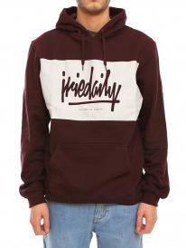Iriedaily Tagg Hoodie (aubergine)