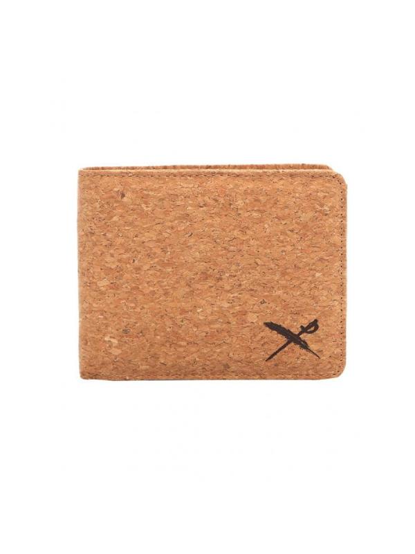 Iriedaily Cork Flag Wallet (light brown)