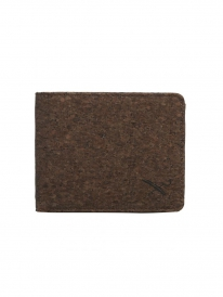 Iriedaily Cork Flag Wallet (dark brown)