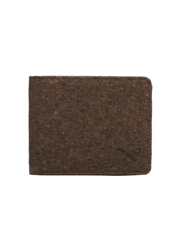 Iriedaily Cork Flag Wallet (dark brown)