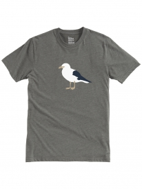Cleptomanicx Gull 3 T-Shirt (heather dark olive)