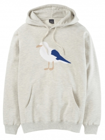 Cleptomanicx Gull 3 Hoodie (heather creme)