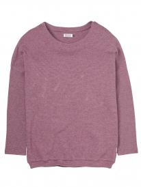 Cleptomanicx Henni Sweater (dark purple)