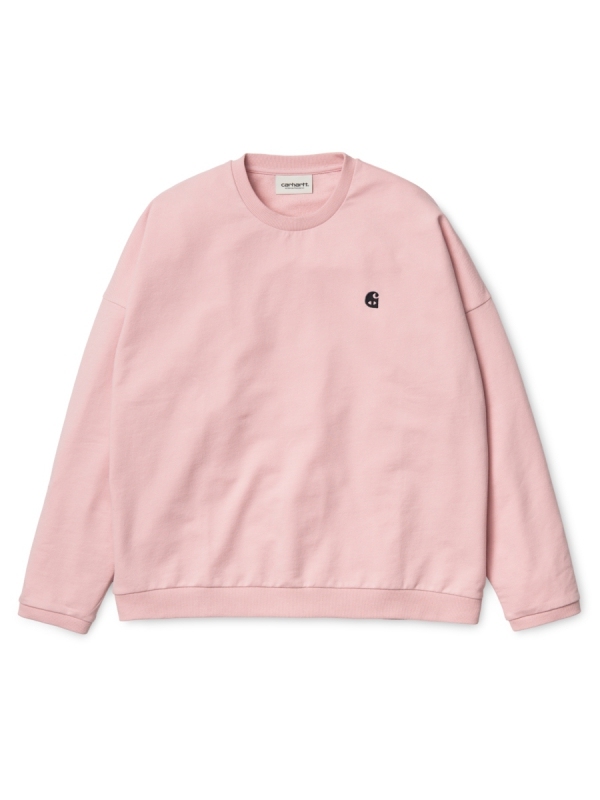 Carhartt Ellery Egypt Sweater (soft rose/black)