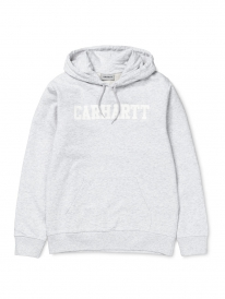 Carhartt College Hoodie (ash heather/white)