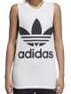 Adidas Trefoil Tank Top (white/black)