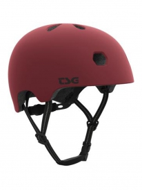 TSG Meta Solid Color Helm (satin oxblood)