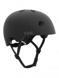 TSG Meta Solid Color Helm (satin black)