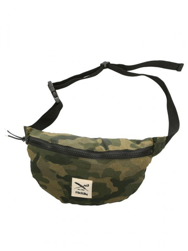 Iriedaily Gridstop Hipbag (camou olive)