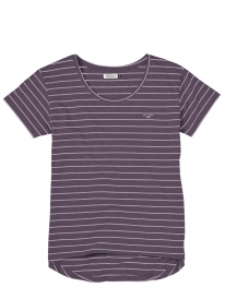 Cleptomanicx Harbour T-Shirt (heather dark purple)