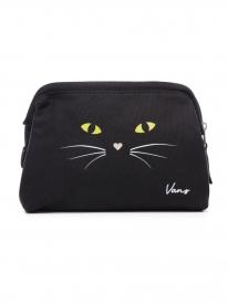 Vans Done Up Case Kosmetiktasche (black cat)