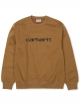 Carhartt WIP Sweat Sweater (hamilton brown/black)