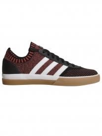 Adidas Lucas Premiere Primeknit (core black/white/trace scarlet)