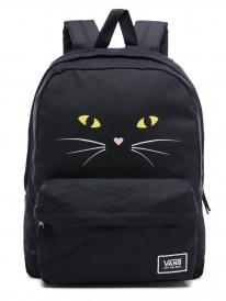 Vans Realm Classic Rucksack (black cat)