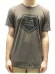 Schichtwechsel Mountain Logo T-Shirt (brown melange)