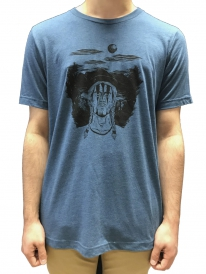 Schichtwechsel Chief T-Shirt (steel blue melange)