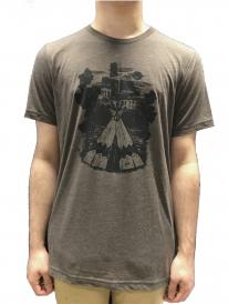 Schichtwechsel Tipi T-Shirt (brown melange)