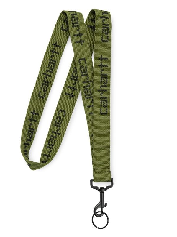 Carhartt WIP Script Lanyard Schlüsselband (rover green/black)