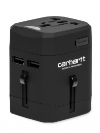 Carhartt WIP Multinational Travel Adapter (black)