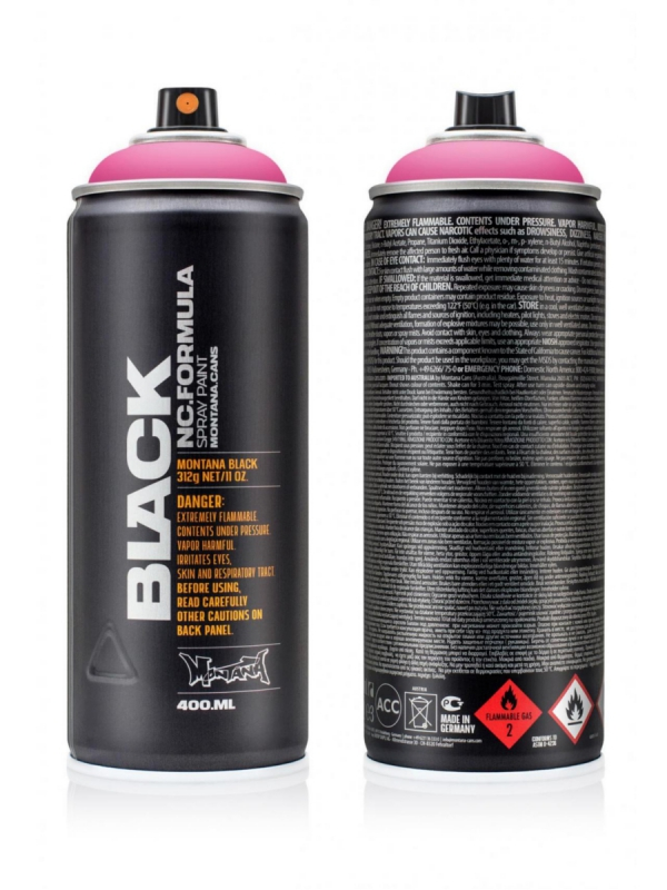 Montana Black NC 400ml Sprühdose (pink panther/BLK3130)
