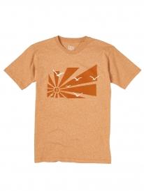 Cleptomanicx Flashback T-Shirt (heather golden yellow)