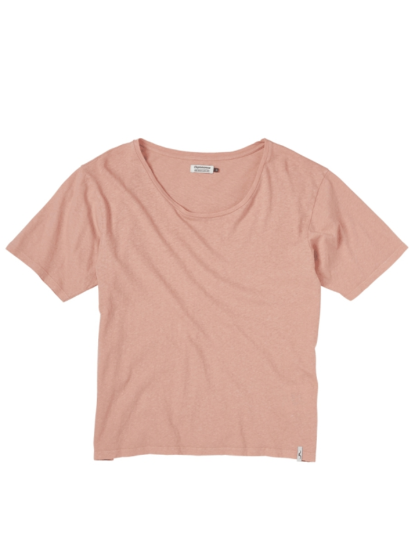 Cleptomanicx Linn Loose T-Shirt (coral)
