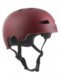 TSG Evolution Kids Helm Solid Colors XXS/XS (satin oxblood)