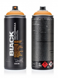 Montana Black NC 400ml Sprühdose (clock orange/BLK2070)