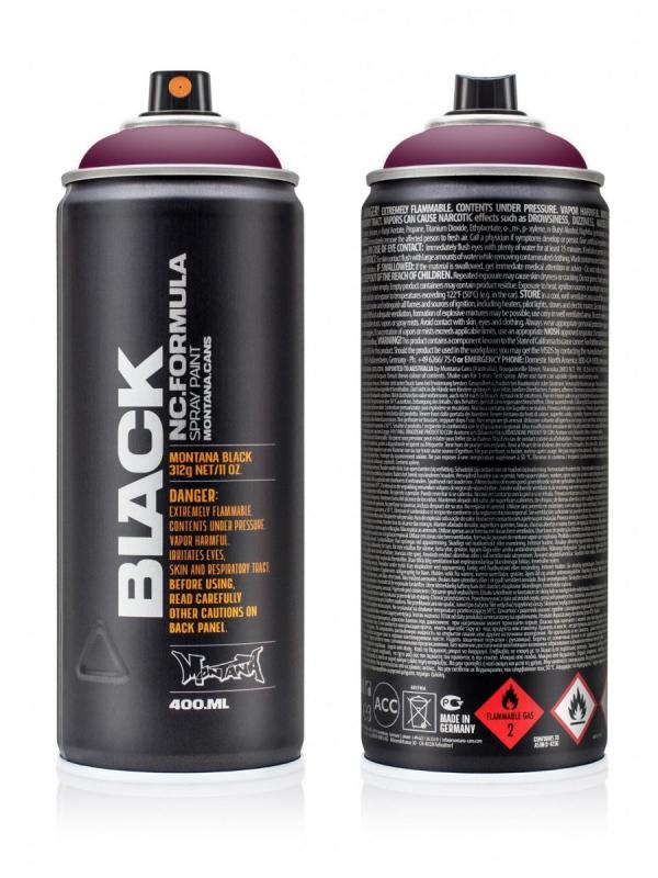 Montana Black NC 400ml Sprühdose (winegum/BLK3080)