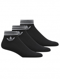 Adidas Trefoil Ankle Stripes Socken (black)