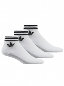 Adidas Trefoil Ankle Stripes Socken (white)