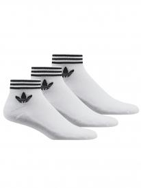 Adidas Trefoil Ankle Stripes Socken (white)