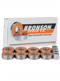 Bronson Speed Co. G2 Kugellager (orange/silver)