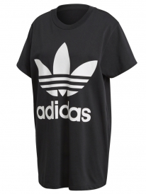 Adidas Big Trefoil T-Shirt (black/white)