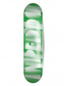 Inpeddo Silver Rasta Deck 8.25 Inch (green)