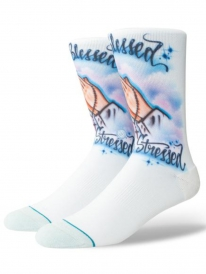 Stance Airbrush Blessed Socken (blue)