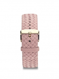 Kapten & Son Woven Leather Strap Rose (rose)