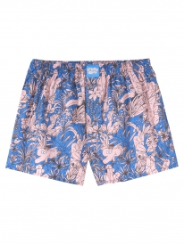 Cleptomanicx Tropical Boxershorts (parisian blue)