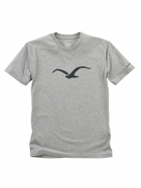 Cleptomanicx Möwe Tonal T-Shirt (heather gray)
