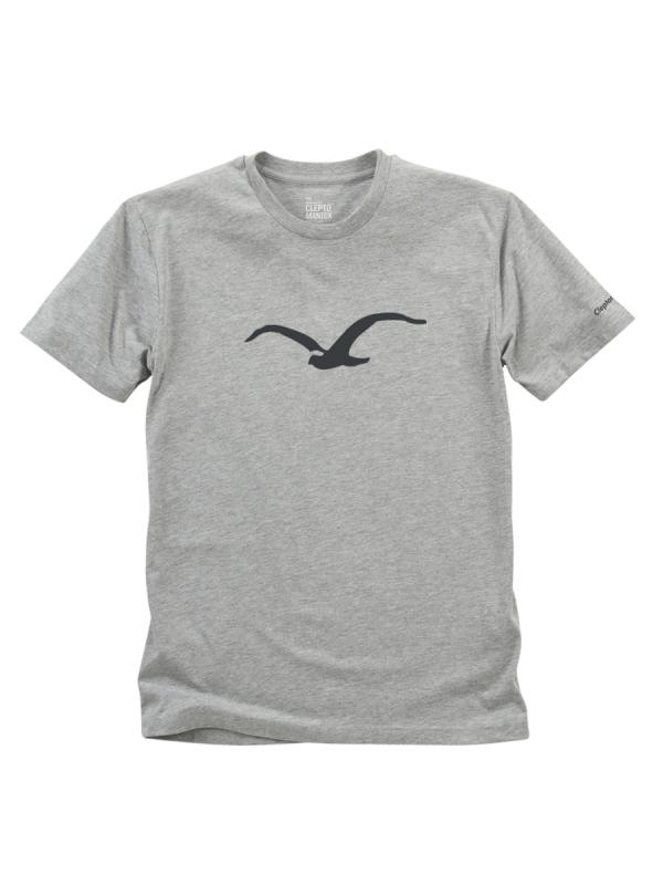 Cleptomanicx Möwe Tonal T-Shirt (heather gray)