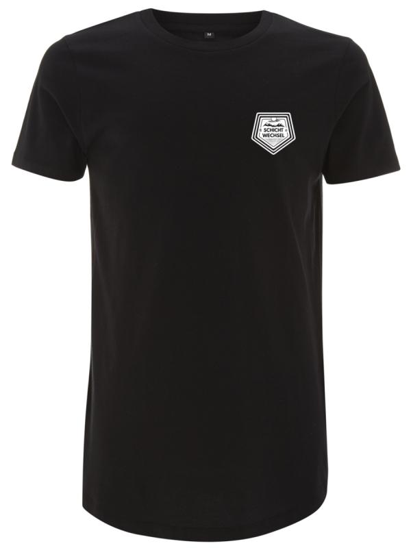 Schichtwechsel Mountain Chest Logo T-Shirt (black)
