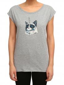 Iriedaily Uni Grump T-Shirt (grey melange)