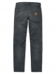 Carhartt WIP Klondike Pant (grey gravel washed/stretch)