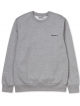 Carhartt WIP Script Embroidery Sweater (grey heather/black)
