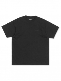 Carhartt WIP Script Embroidery T-Shirt (black/black)