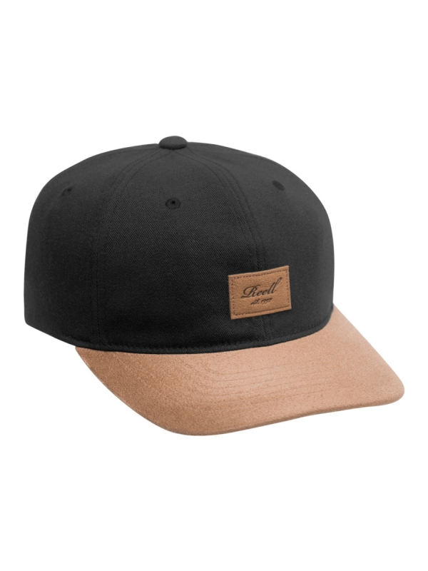 Reell Curved Suede Cap (black)