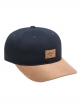 Reell Curved Suede Cap (navy)